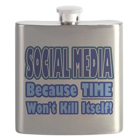 Social Media Kill Time Flask