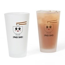 Cute Asian food Drinking Glass