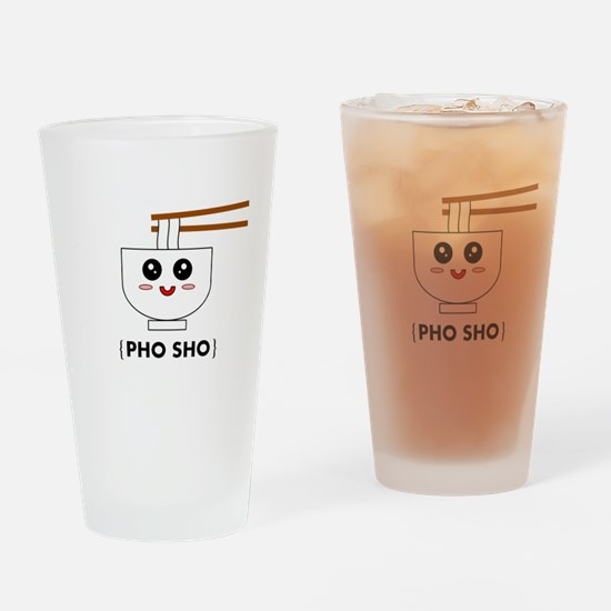 Funny Pho Drinking Glass