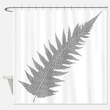 Silver Fern Aotearoa Shower Curtain