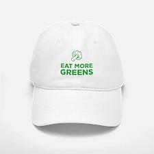 Eat More Greens Baseball Baseball Baseball Cap