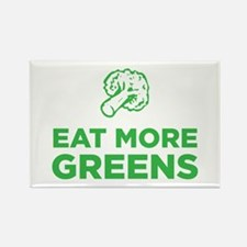Eat More Greens Rectangle Magnet