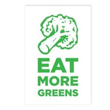 Eat More Greens Postcards (Package of 8)