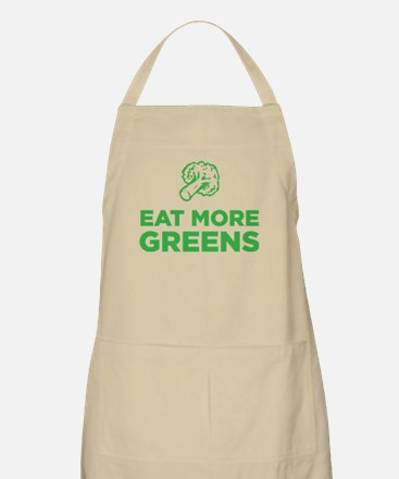 Eat More Greens Apron
