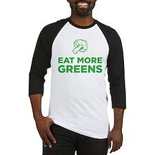 Eat More Greens Baseball Jersey
