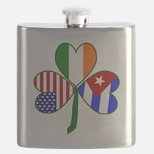 Shamrock of Cuba Flask