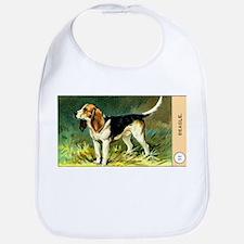 Antique 1908 Beagle Dog Cigarette Card Bib