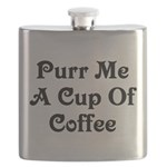 Purr Me A Cup of Coffee Flask