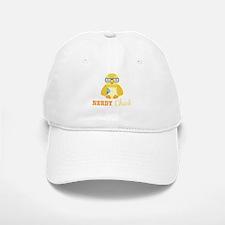 Nerdy Chick Baseball Baseball Baseball Cap
