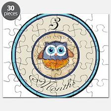 3 Months Owl Milestone Puzzle