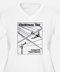 Chemtrail Sky Plus Size T-Shirt
