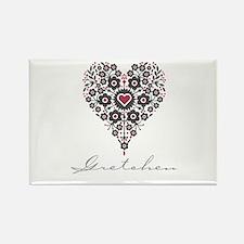 Love Gretchen Rectangle Magnet