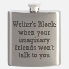 Writer's Block Flask