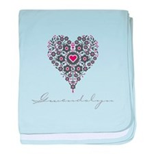 Love Gwendolyn baby blanket