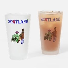 Scottish Rugby Drinking Glass