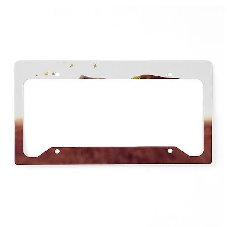 Brontotheres - License Plate Holder