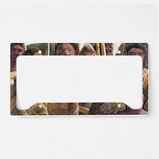 , artwork - License Plate Holder