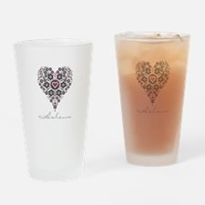 Love Helena Drinking Glass