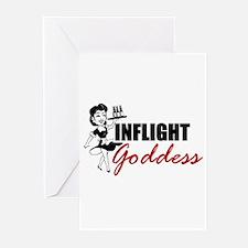 Inflight Goddess Greeting Cards (Pk of 10)