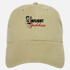 Inflight Goddess Baseball Baseball Cap