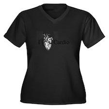 I Heart Cardio Plus Size T-Shirt