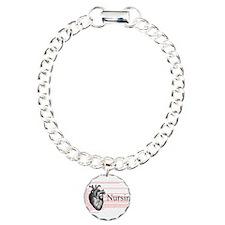I Heart Nursing Definition Bracelet