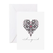 Love Ingrid Greeting Card