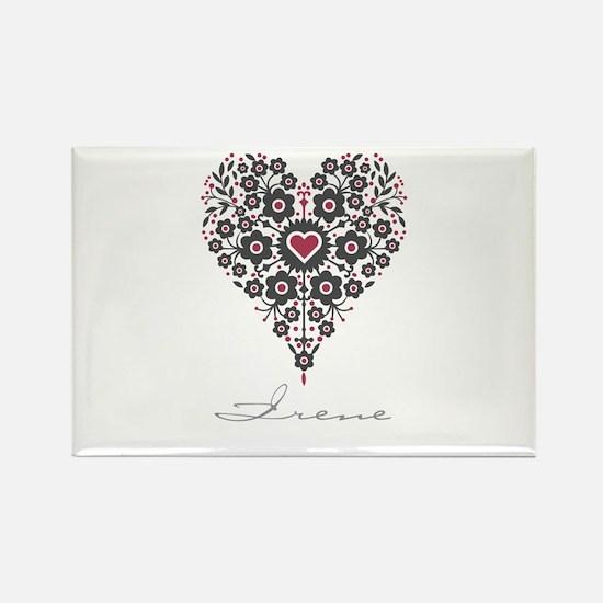 Love Irene Rectangle Magnet