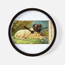 Antique 1908 English Mastiff Dog Cigarette Card Wa