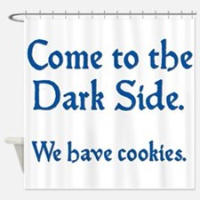 darkside1.png Shower Curtain