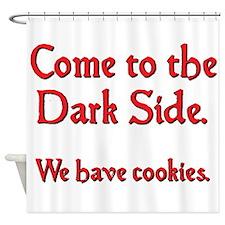 darkside2.png Shower Curtain