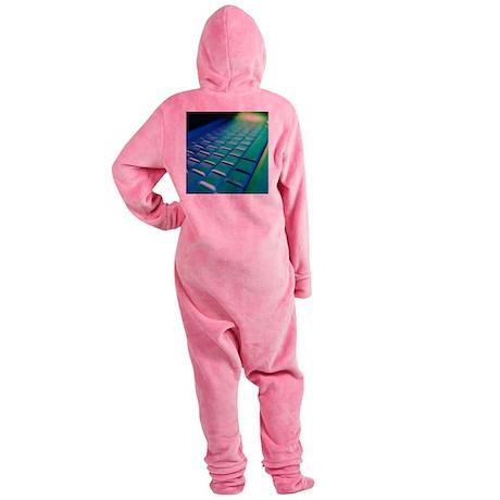 Computer keyboard - Footed Pajamas