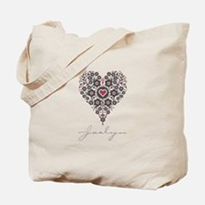 Love Jaclyn Tote Bag