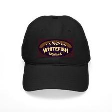 Whitefish Logo Sepia Baseball Hat