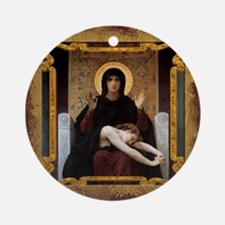 Virgin of Consolation Ornament (Round)