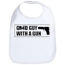 Good Guy with a Gun Bib