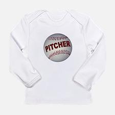 BASEBALL PITCHER Long Sleeve T-Shirt