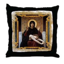 Virgin of Consolation Throw Pillow