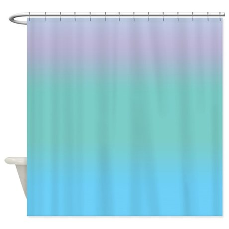 Ocean Blue Shower Curtain by CopperCreekDesignStudio