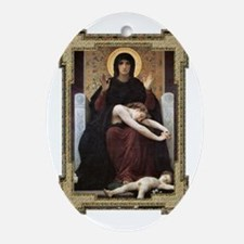 Virgin of Consolation Ornament (Oval)