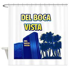 Del Boca Vista Shower Curtain