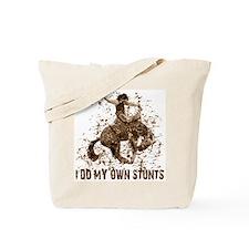 Bronco Rodeo Cowboy, Stunts Tote Bag
