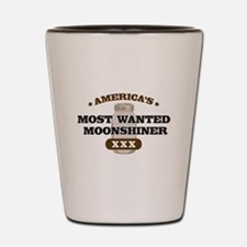 Most Wanted Moonshiner Shot Glass