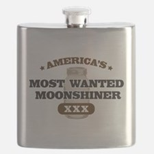Most Wanted Moonshiner Flask
