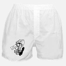 Funny Turkey Boxer Shorts