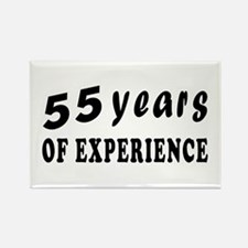 55 years birthday designs Rectangle Magnet