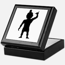 Menehune Silhouette Keepsake Box