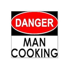 Danger Man Cooking Sticker