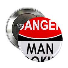 """Danger Man Cooking 2.25"""" Button"""