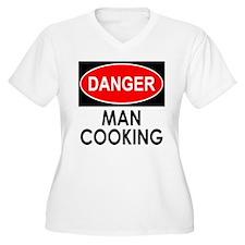 Danger Man Cooking Plus Size T-Shirt